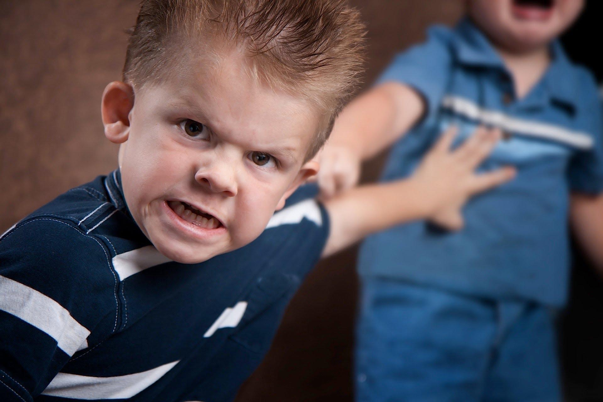 الطفل العدواني