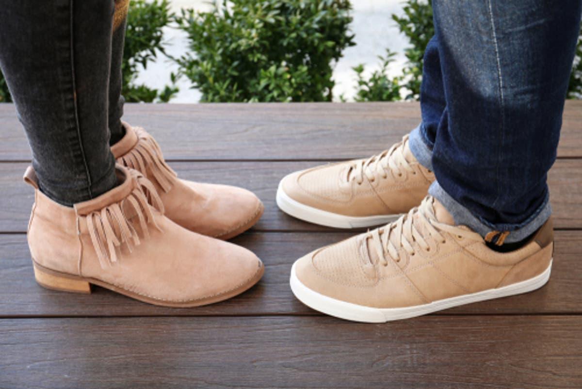 تنظيف أحذية الشامواه