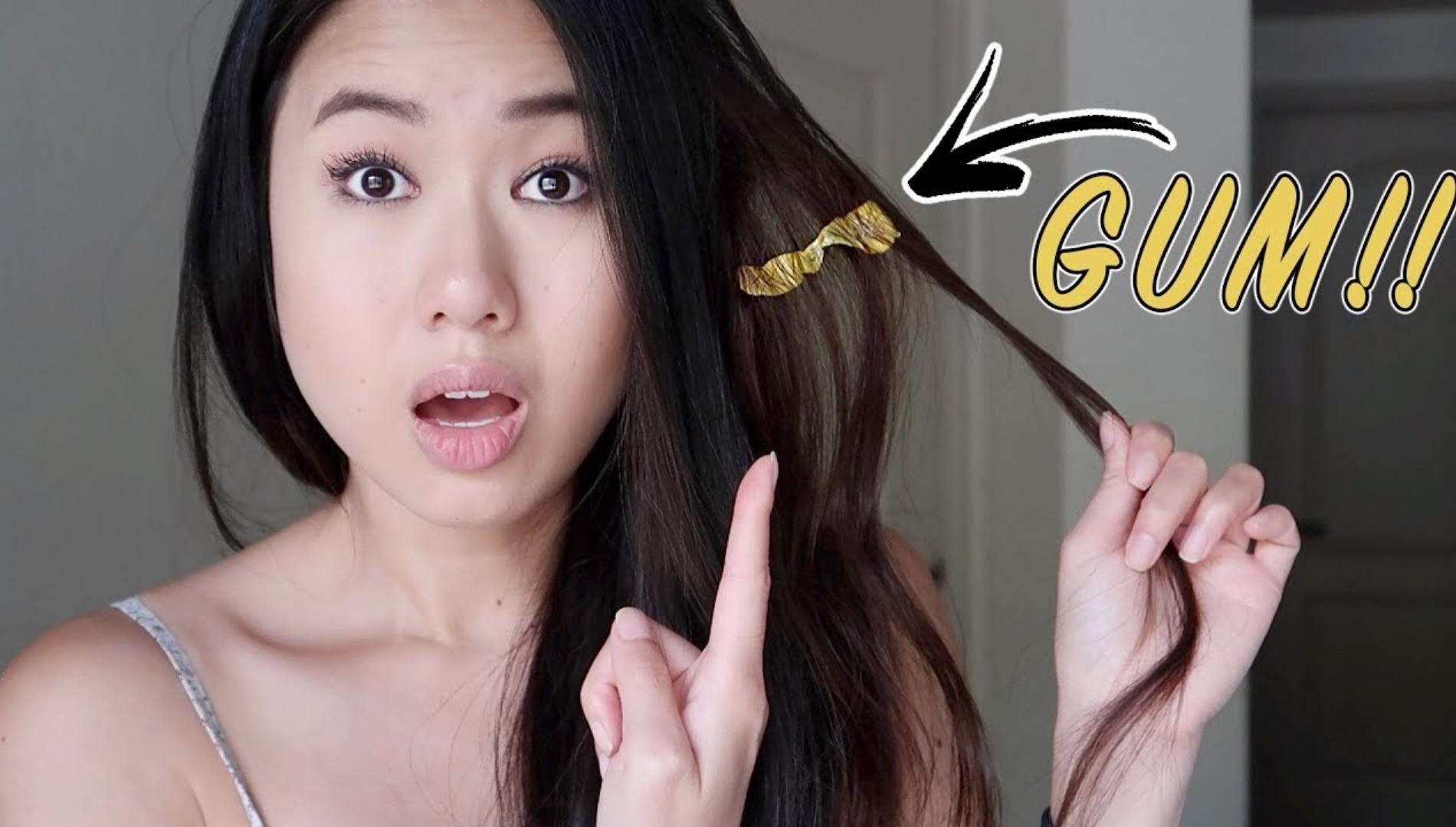 العلكة في الشعر