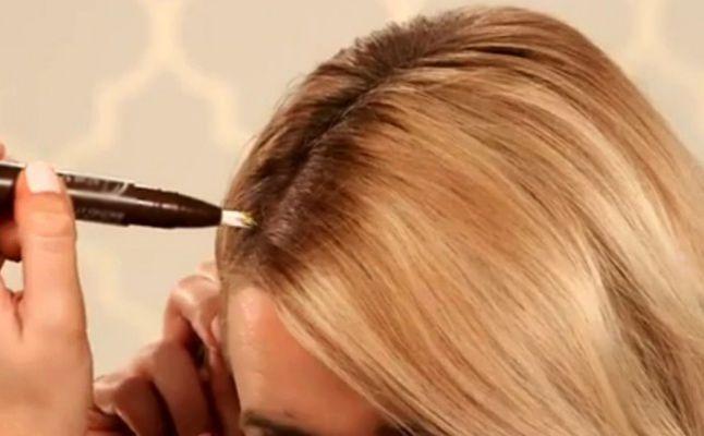 لإخفاء الشعر الأبيض