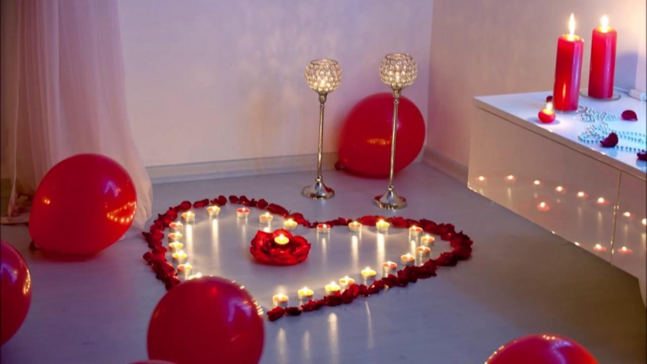 عيد الحب في المنزل