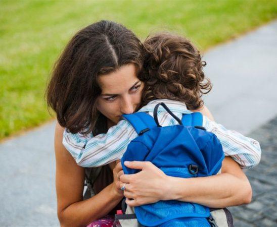 قلق الانفصال عند الأطفال