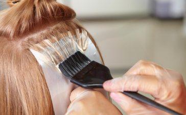 صبغ الشعر في المنزل