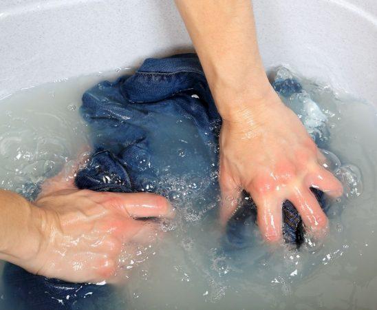 غسل ملابس الصوف