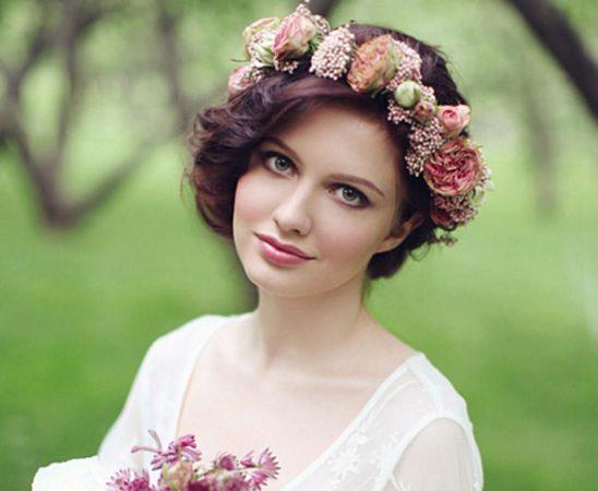 تسريحات الورد للعروس