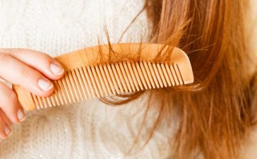 تقصف أطراف الشعر