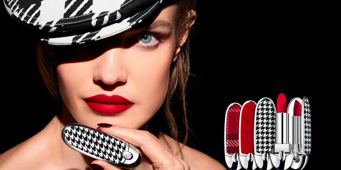 تعرفي إلى مميزات حمرة Guerlain الجديدة Rouge Luxurious Velvet