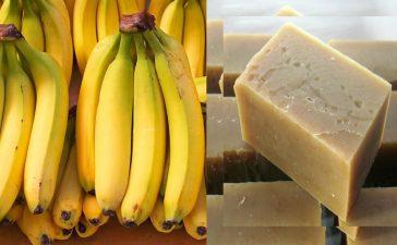 صابون الموز والمشمش